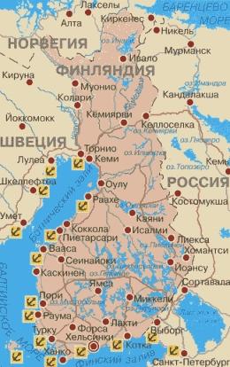 скачать карту финляндии для навигатора - фото 2